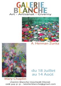 A. Herman Zurita in Galerie Blanche